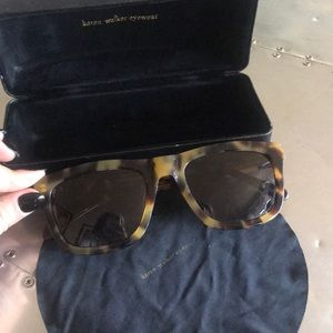 Karen Walker Tortoise Deep Freeze Sunglasses